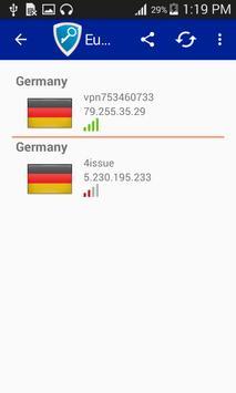 Europe Vpn Free screenshot 2