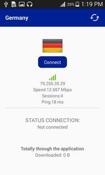 Europe Vpn Free screenshot 3