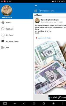 Singles Club Events screenshot 1