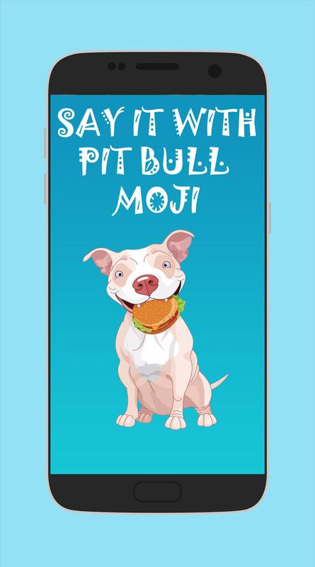 Pit Bull Emoji Stickers For Android Apk Download