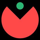 Circle catcher icon