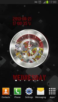 Clock HQ Live Wallpaper Free screenshot 3