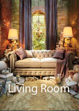 Living Room design poster