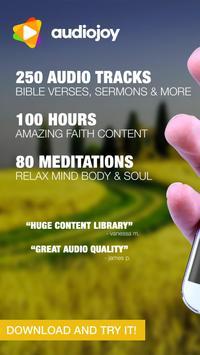 Amazing Bible Verses Audio App poster