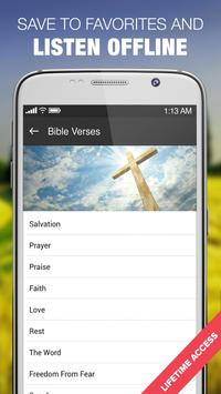 Amazing Bible Verses Audio App screenshot 2