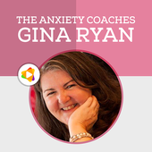 Anxiety Coaches Podcasts & Workshops by Gina Ryan icon