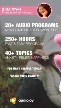 Anxiety Coaches Podcasts & Workshops by Gina Ryan poster