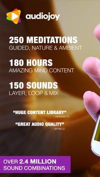 1000 Looping Meditation Sounds & Zen Sleep Timer poster