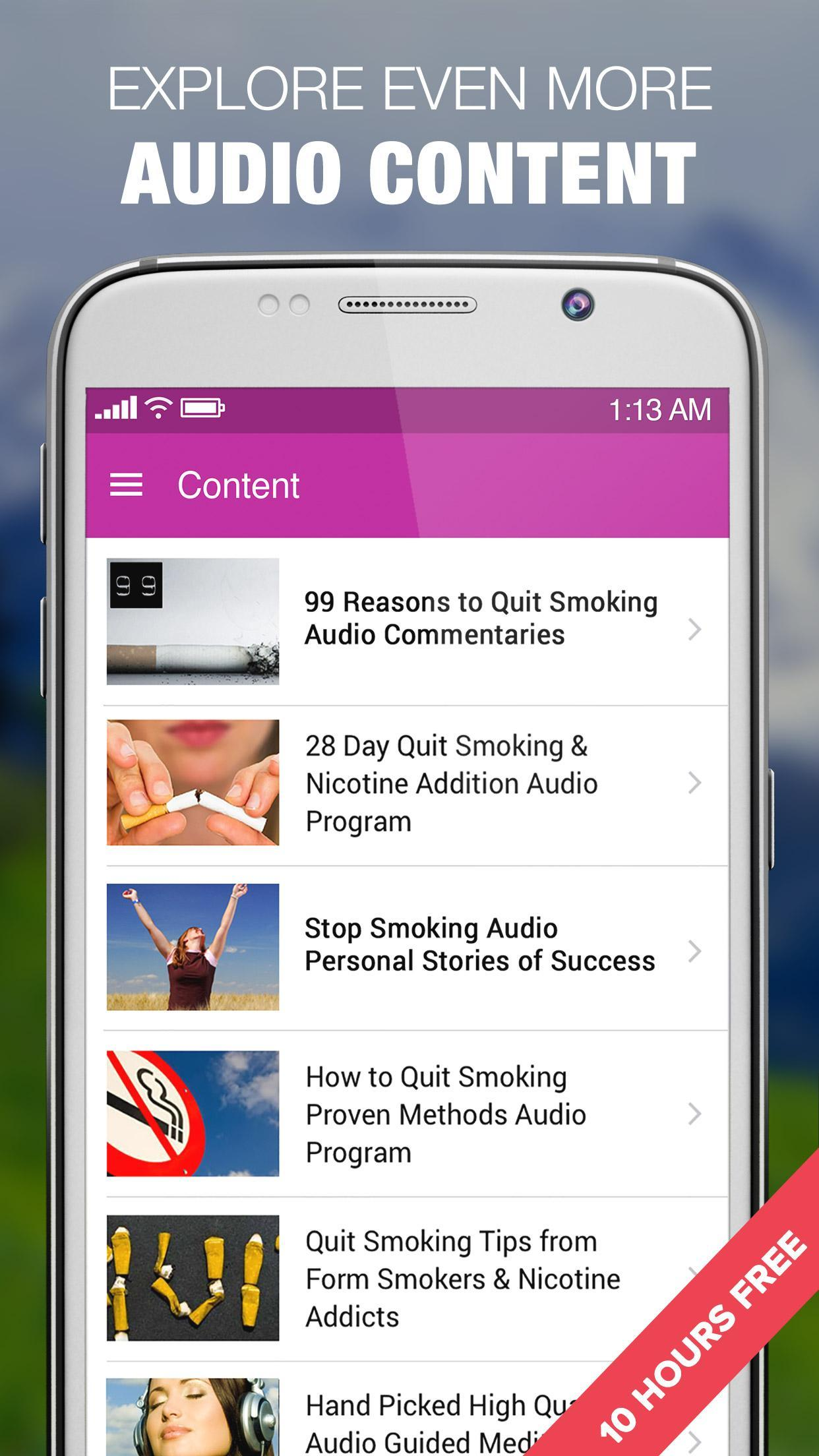 Quit Smoking in 28 Days Easy Stop Audio Course for Android