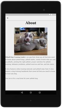 Pitbull Dog Training Guide screenshot 2