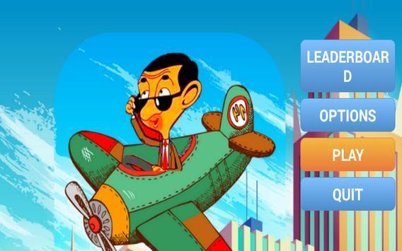 Plane mr bean - New adventure apk screenshot