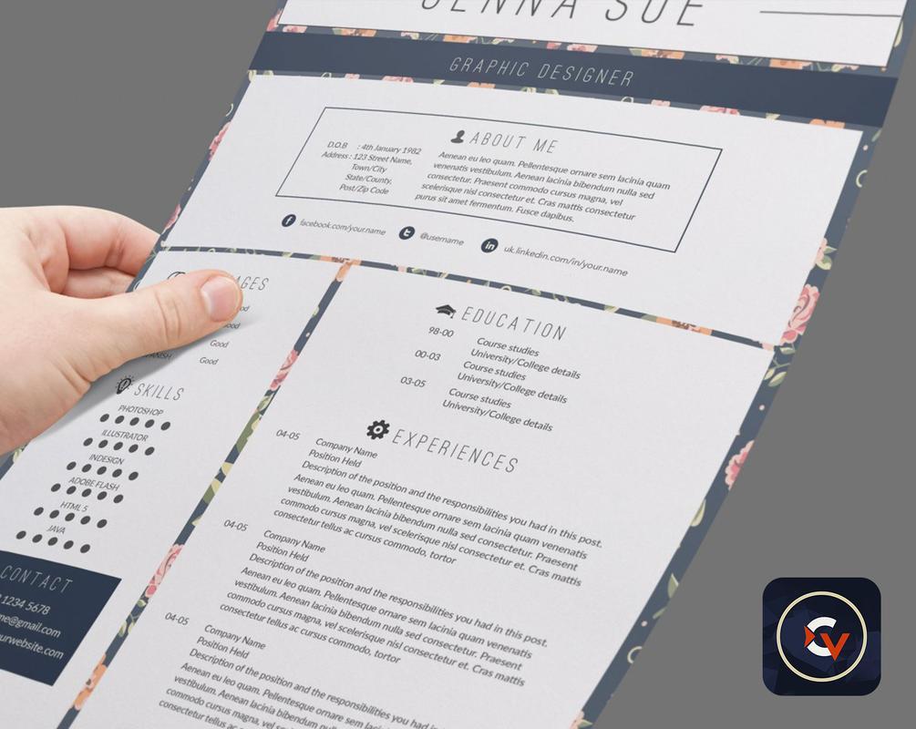 android 用の resume maker cv creator templates apk をダウンロード