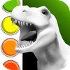 Dinosaurs 3D Coloring Book simgesi