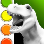 Dinosaurs 3D Coloring Book biểu tượng