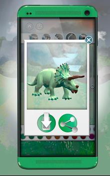 Dinosaurs 3D Coloring Book Screenshot 6