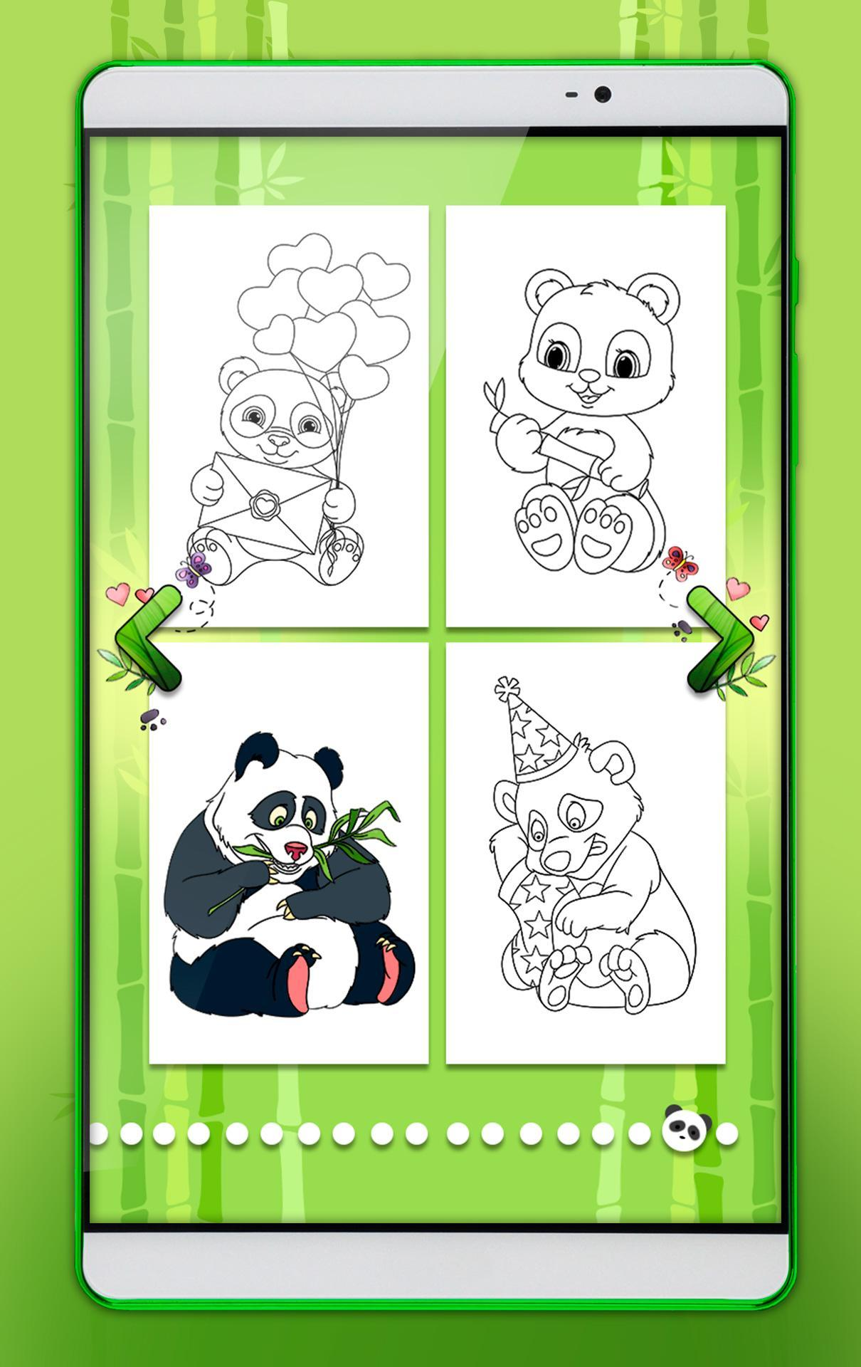 Panda Coloring Pages For Android Apk Download