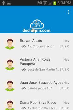 Delivery Dechopin screenshot 1