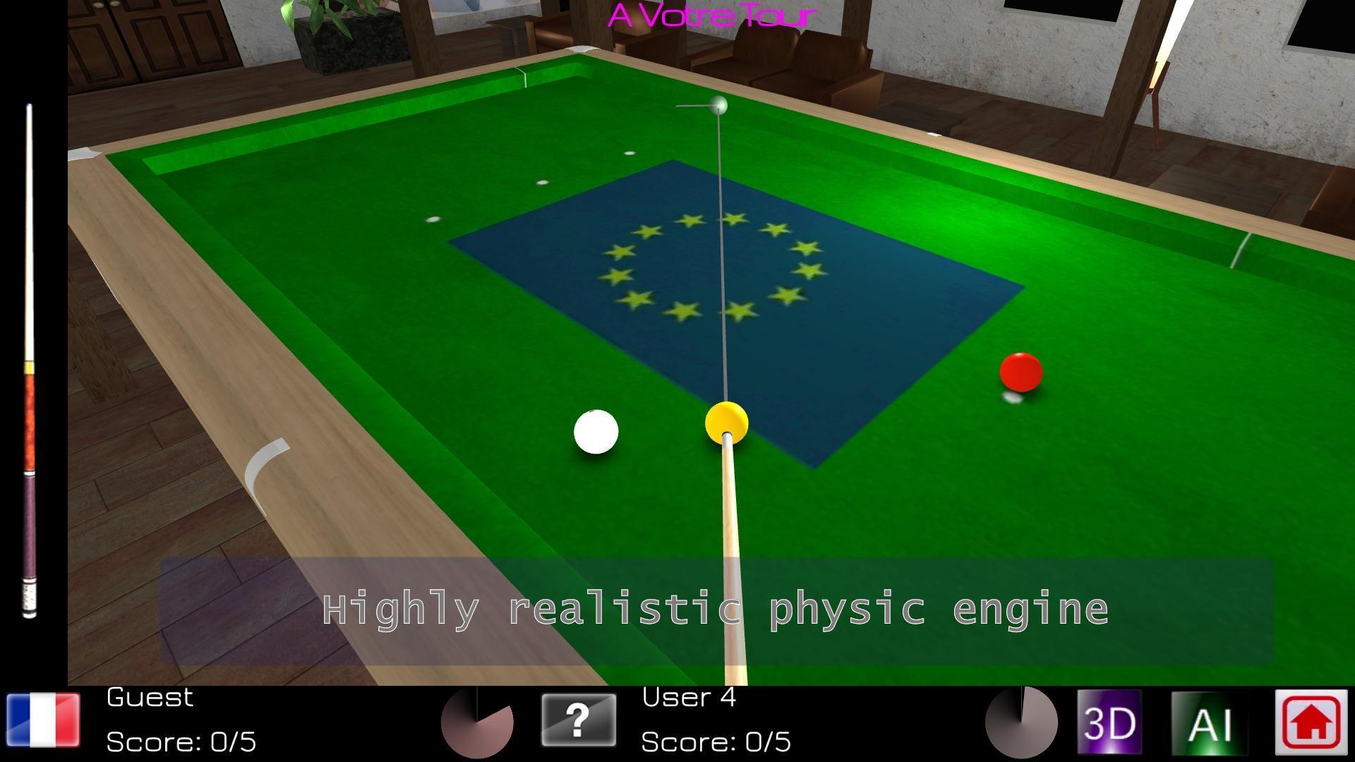 Carom Billiards cho Android - Tải về APK
