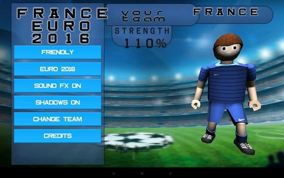 FRANCE EURO 2016 poster