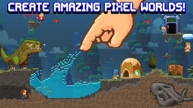 The Sandbox Evolution - Craft a 2D Pixel Universe! poster