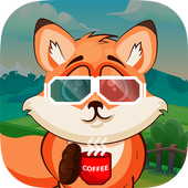 Raccoon Adventure - Bubble Shooter icon