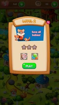 Raccoon Adventure - Bubble Shooter screenshot 3