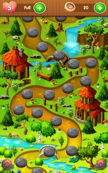 Raccoon Adventure - Bubble Shooter screenshot 16