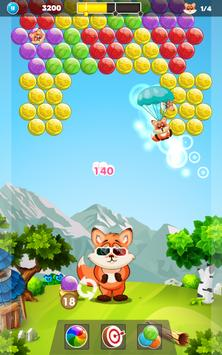 Raccoon Adventure - Bubble Shooter screenshot 20