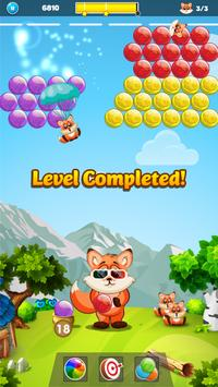 Raccoon Adventure - Bubble Shooter screenshot 6
