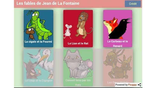 Fables de Jean de La Fontaine apk screenshot