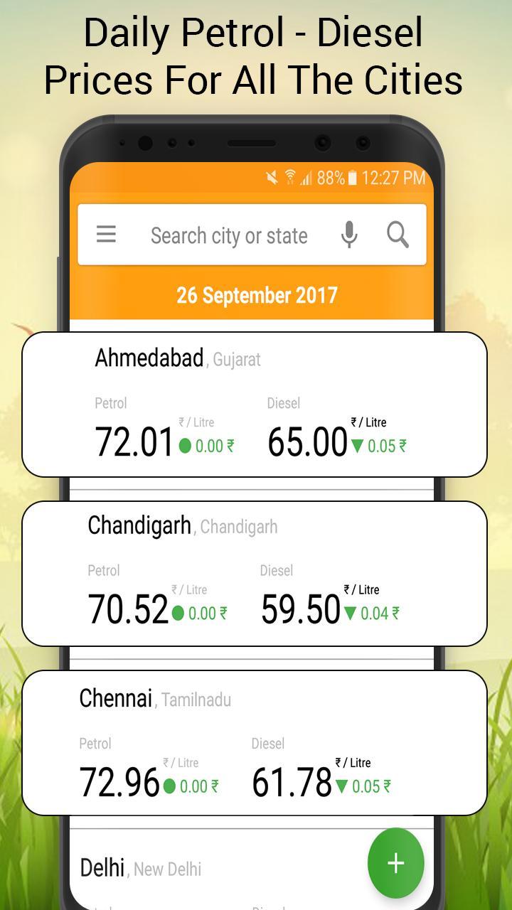 Daily Petrol Diesel Price poster