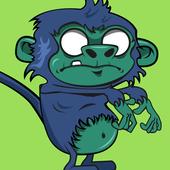 Zombie Apes Escape! icon