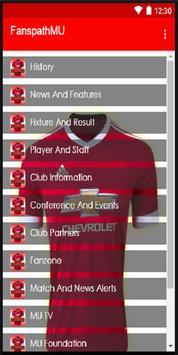 Fanspath MU Club Football poster