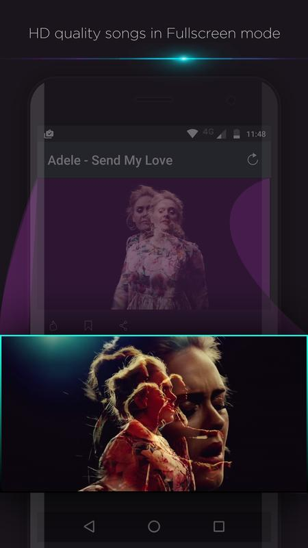 ... GetMusica: English video songs, Albums& Lyrics HD apk screenshot ...