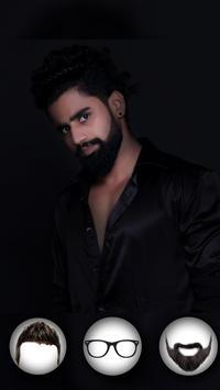 Mustache Beard & Men Hairstyle screenshot 3