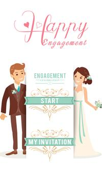 Engagement invite card maker apk download free photography app for engagement invite card maker poster stopboris Images