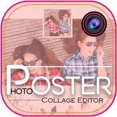 Poster photo collage maker icon