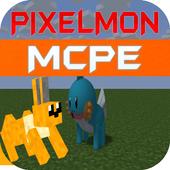 PiXelmone Mod for MCPE prank icon
