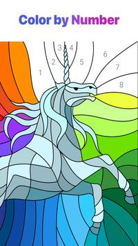 Color by Number – New Coloring Book poster