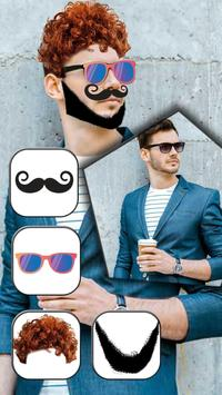Beard & Mustache Photo Editor apk screenshot