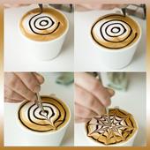 Coffee Art Images - Latte Art icon