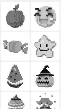Pixel.ly 3D постер