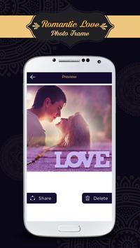 Romantic Love Photo Frames screenshot 3