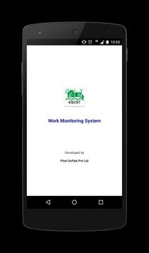 Work Monitoring System 포스터