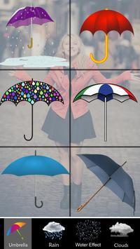 Rain Effect on photo Editor apk screenshot