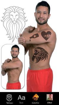 Tattoo Design App Photo Editor poster
