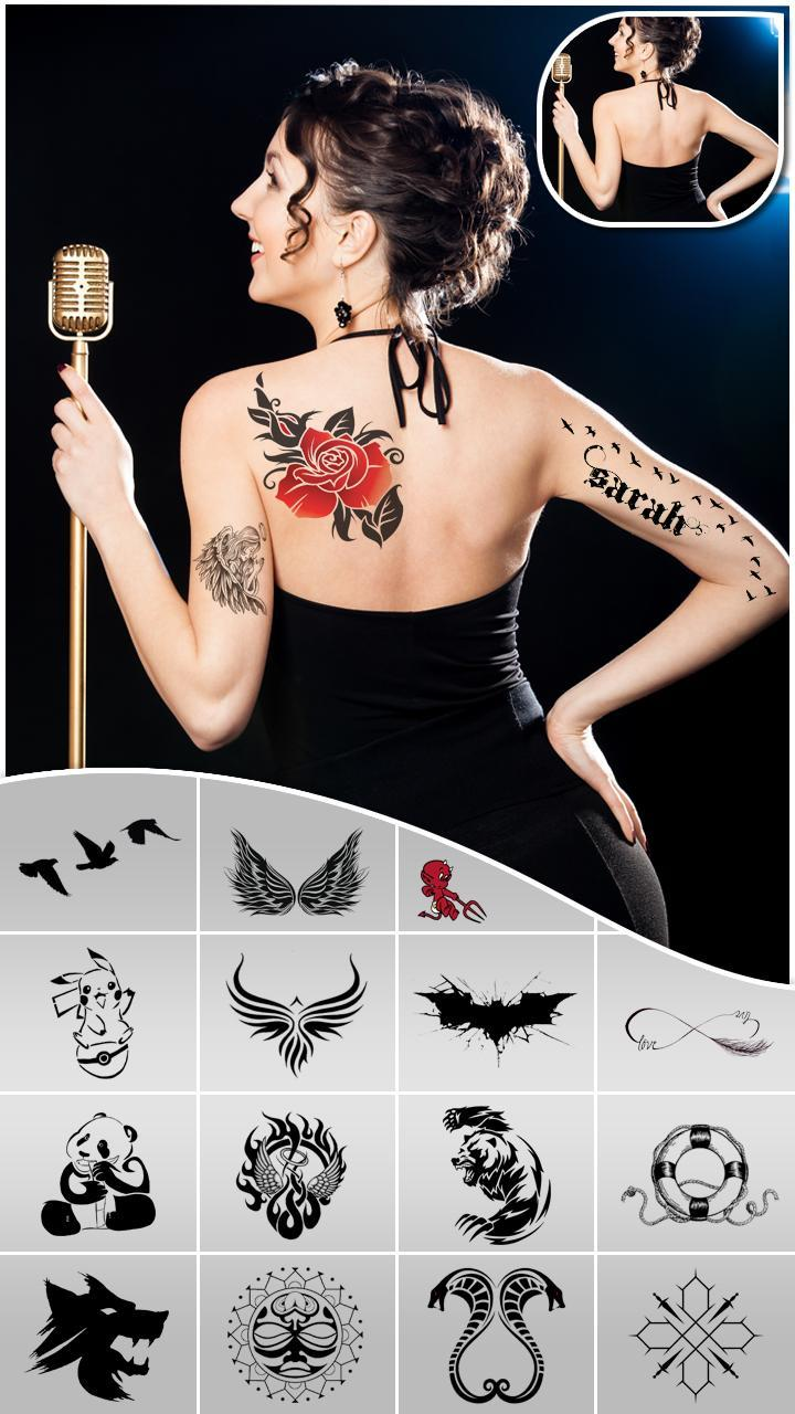 Tattoo Design App Photo Editor For Android Apk Download