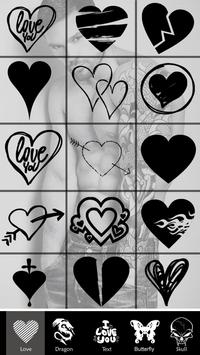 Tattoo Design App Photo Editor apk screenshot