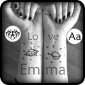 Tattoo My Photos With My Name