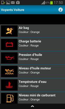 Tous Les Voyants Voiture screenshot 1